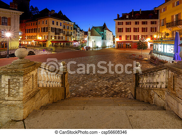 Annecy. Old city. - csp56608346