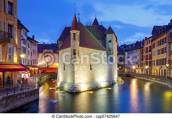 Annecy. Old city. - csp57425647