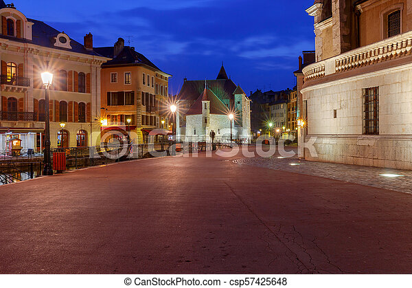 Annecy. Old city. - csp57425648