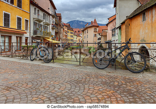 Annecy. Old city. - csp58574894