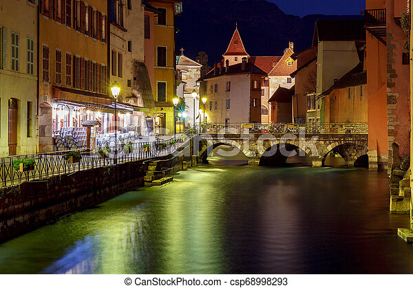 Annecy. Old city. - csp68998293