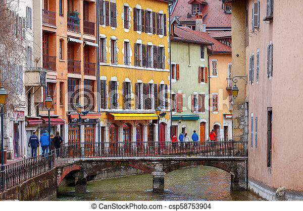 Annecy. Old city. - csp58753904