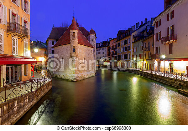Annecy. Old city. - csp68998300