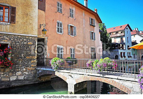 Annecy old town - csp38409227
