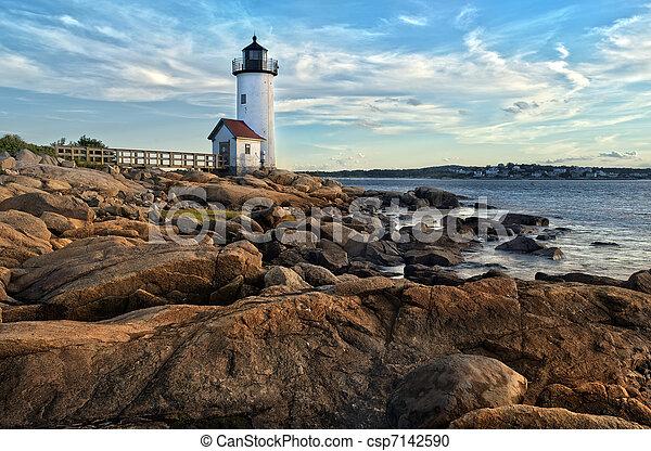 Annisquam lighthouse - csp7142590