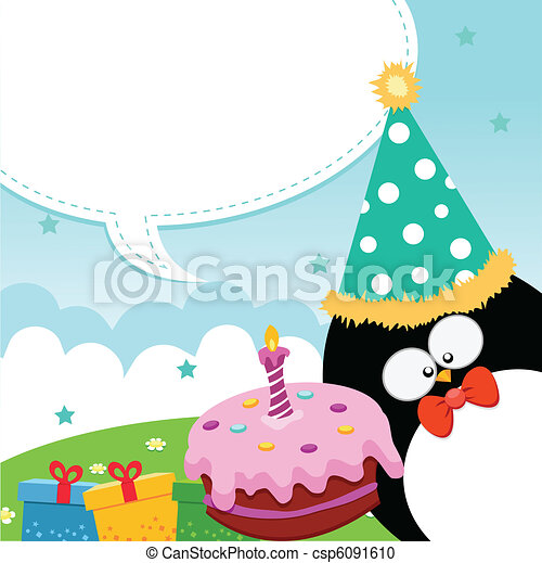 anniversaire, heureux - csp6091610