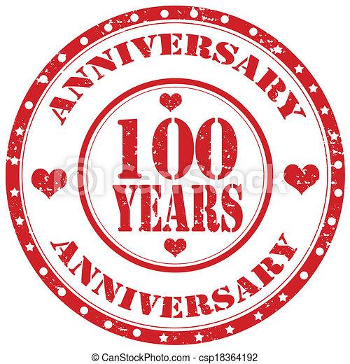 Anniversary-stamp - csp18364192