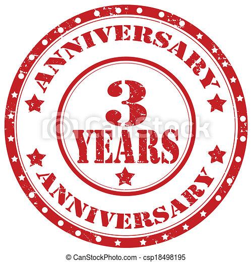 Anniversary-stamp - csp18498195