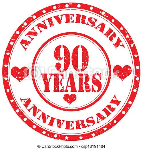 Anniversary-stamp - csp18191404
