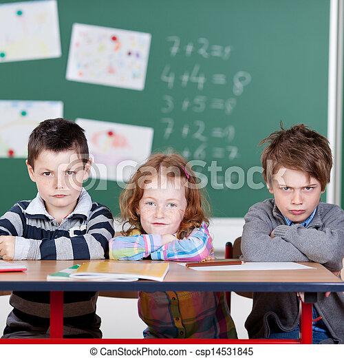 Annoyed children - csp14531845