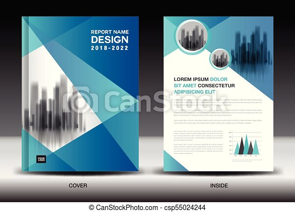 annual report cover design brochure flyer template business advertisement company profile magazine