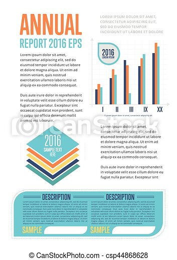 Annual report template with diagram vector illustration seo annual report template with diagram csp44868628 cheaphphosting Image collections