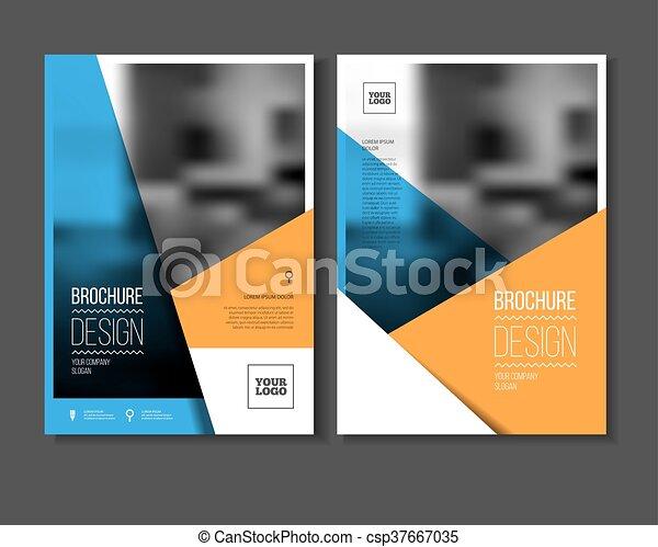Annual report vector illustration - csp37667035