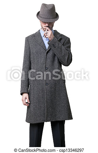 Anonymous Smoker - csp13346297