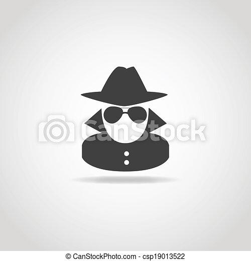 Anonymous Spy Icon - csp19013522