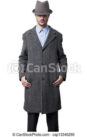 Anonymous Tough Guy - csp13346290