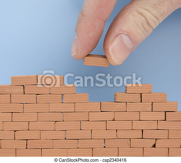 another brick on the wall - csp2340416