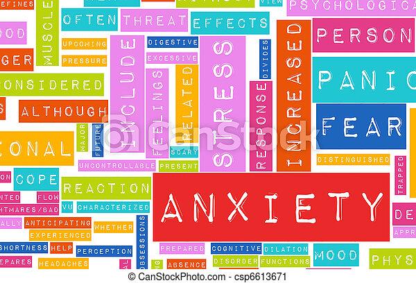 ansiedade - csp6613671
