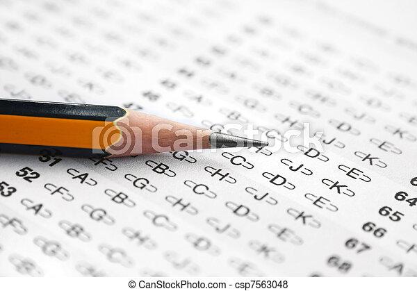 Answer sheet - csp7563048