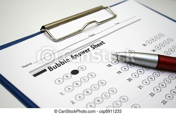 Answer sheet - csp8911233