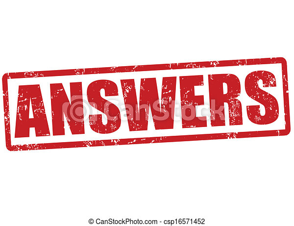 Answers Stamp   Csp16571452
