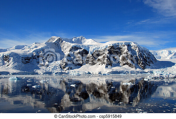 antártica, continente - csp5915849
