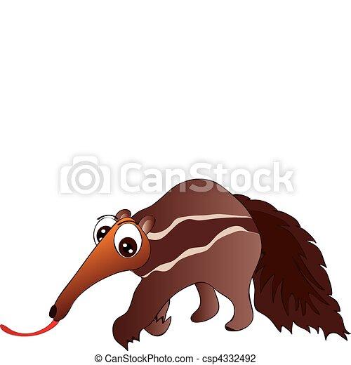 ant eater illustrazione vettoriale cerca clip art Silly Clip Art Black Cat Capybara Dangerous