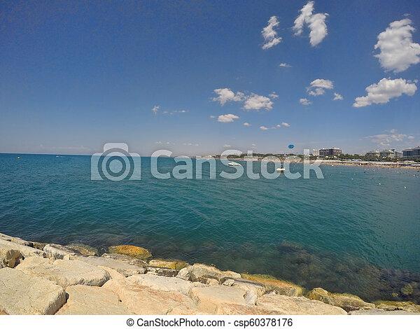 Antalya summer resort beach - csp60378176