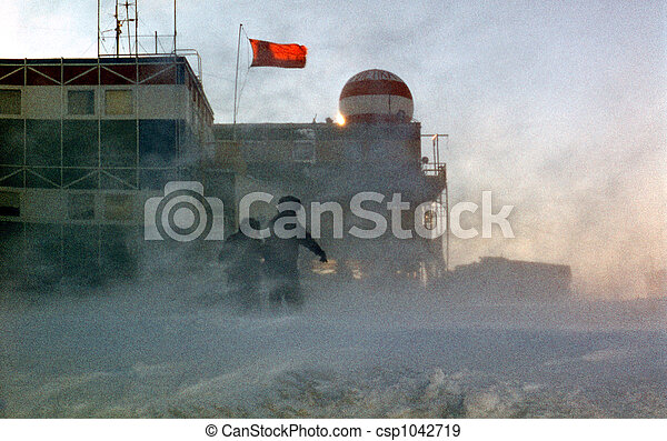 antarctic blizzard - csp1042719