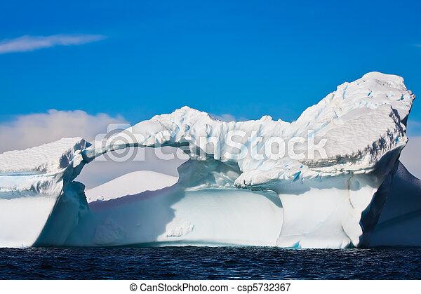 Antarctic Glacier - csp5732367