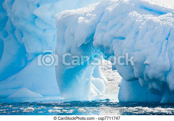 Antarctic Glacier - csp7711747