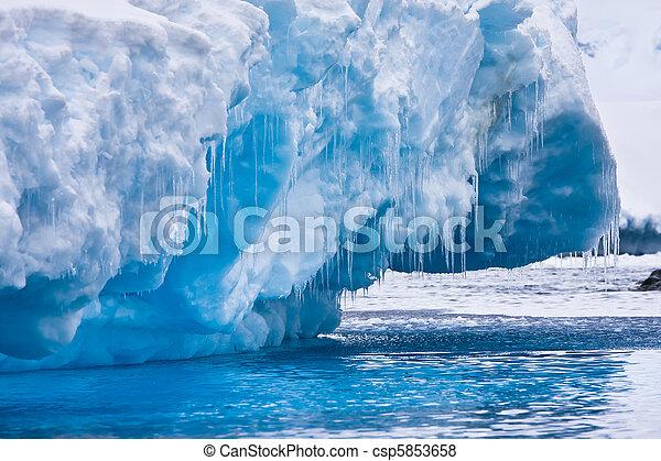 Antarctic Glacier - csp5853658