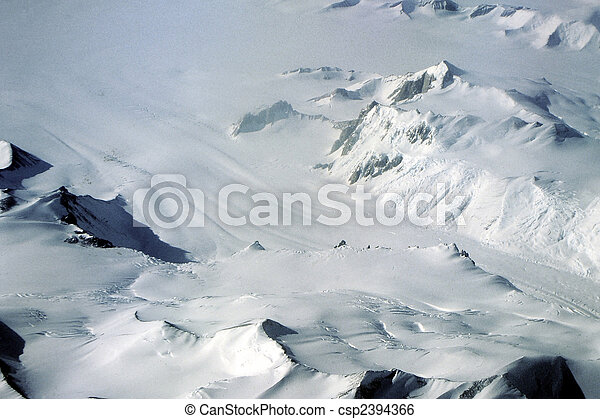 Antarctic Glacier - csp2394366