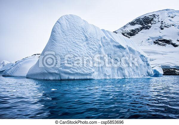 Antarctic Glacier - csp5853696