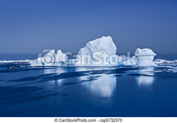 Antarctic Glacier - csp5732370