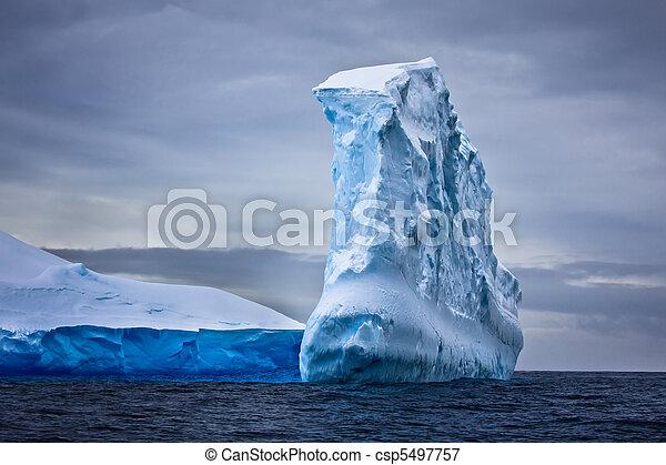 Antarctic iceberg - csp5497757