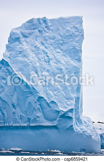 Antarctic iceberg  - csp6859421
