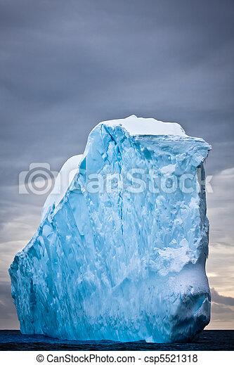 Antarctic iceberg  - csp5521318