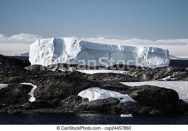 Antarctic iceberg - csp24457860