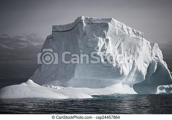 Antarctic iceberg - csp24457864
