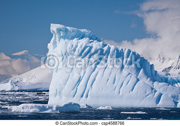 Antarctic iceberg - csp4588766
