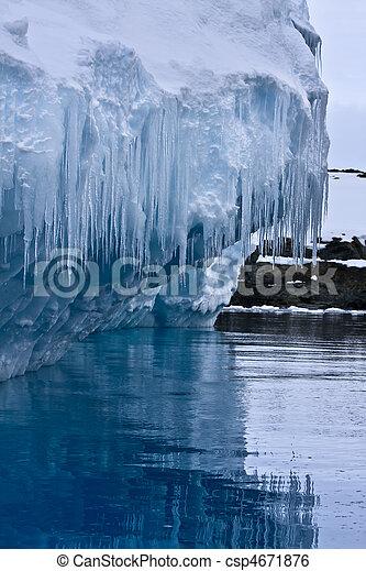 Antarctic iceberg  - csp4671876