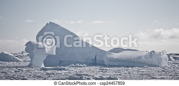 Antarctic iceberg - csp24457859