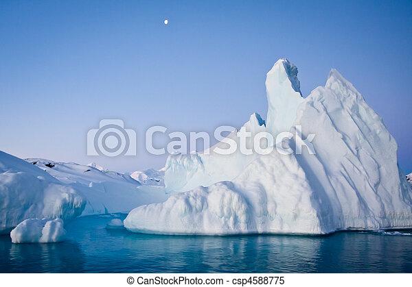 Antarctic iceberg - csp4588775