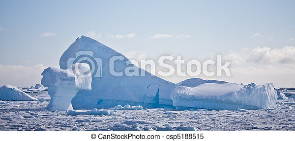 Antarctic iceberg  - csp5188515
