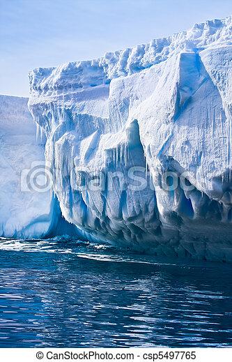 Antarctic iceberg - csp5497765