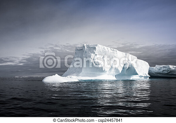 Antarctic iceberg - csp24457841
