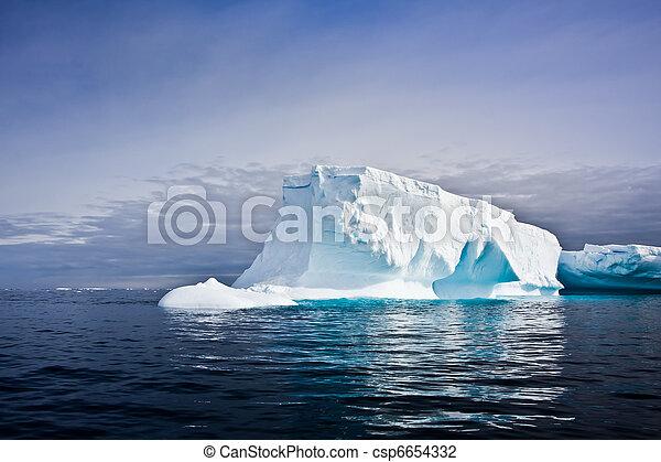 Antarctic iceberg - csp6654332
