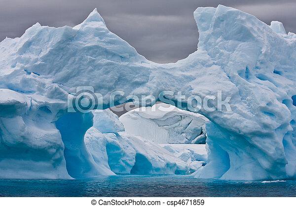 Antarctic iceberg  - csp4671859