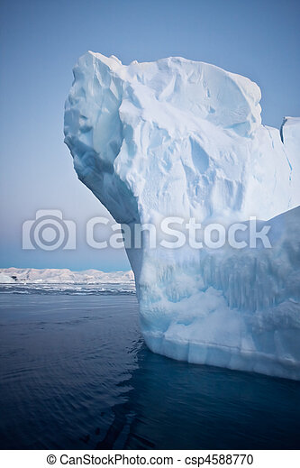 Antarctic iceberg - csp4588770